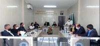 Câmara Municipal de Gararu realiza 5ª sessão com vereadores.