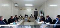 Câmara Municipal de Gararu realiza a 7ª Sessão com vereadores.