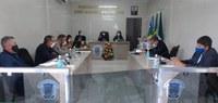 Câmara Municipal de Gararu realiza a 8ª Sessão com vereadores.