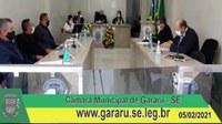 Câmara Municipal de Gararu retorna de recesso e realiza primeira sessão com vereadores eleitos