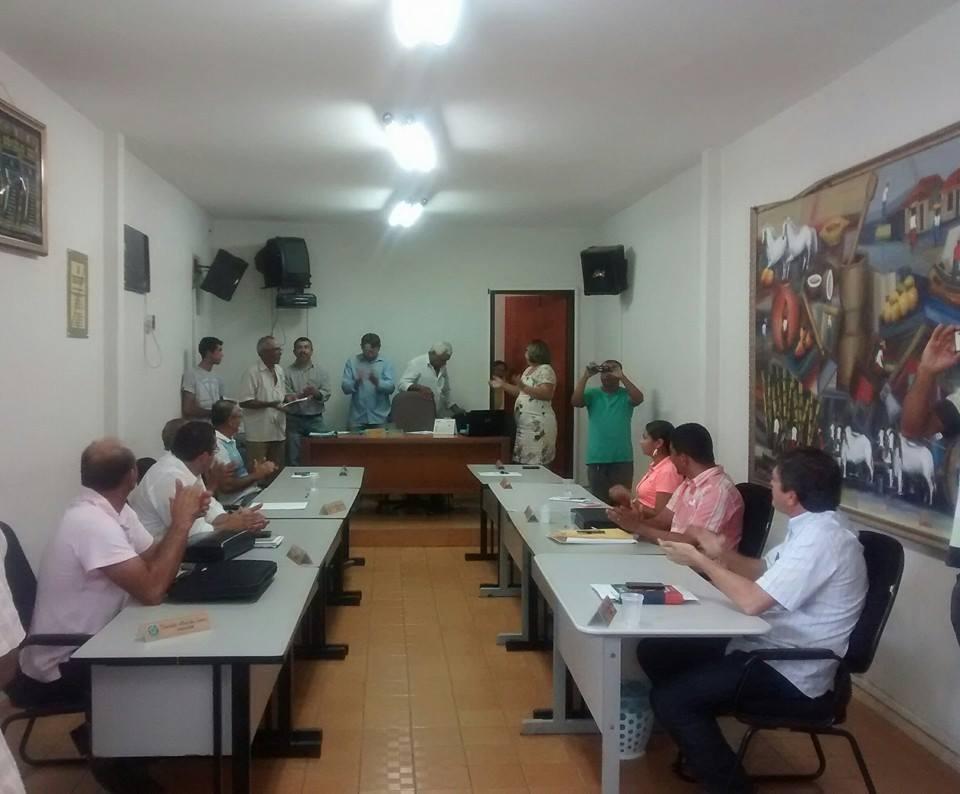 14ª Sessão Ordinária do 1º período Legislativo do biênio 2015/2016
