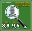 Câmara Municipal de Gararu é a segunda câmara mais transparente do Estado de Sergipe.