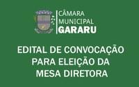 Edital de Eleição da Mesa Diretora Biênio 2019/2020.