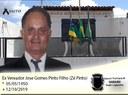 Presidente da Câmara Municipal de Gararu Vereador Roque decreta Luto Oficial de 03 dias pelo o falecimento do Ex-Vereador Sr. José Gomes Pinto Filho (Zé Pinto).